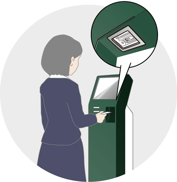 For Kiosk and ATMs