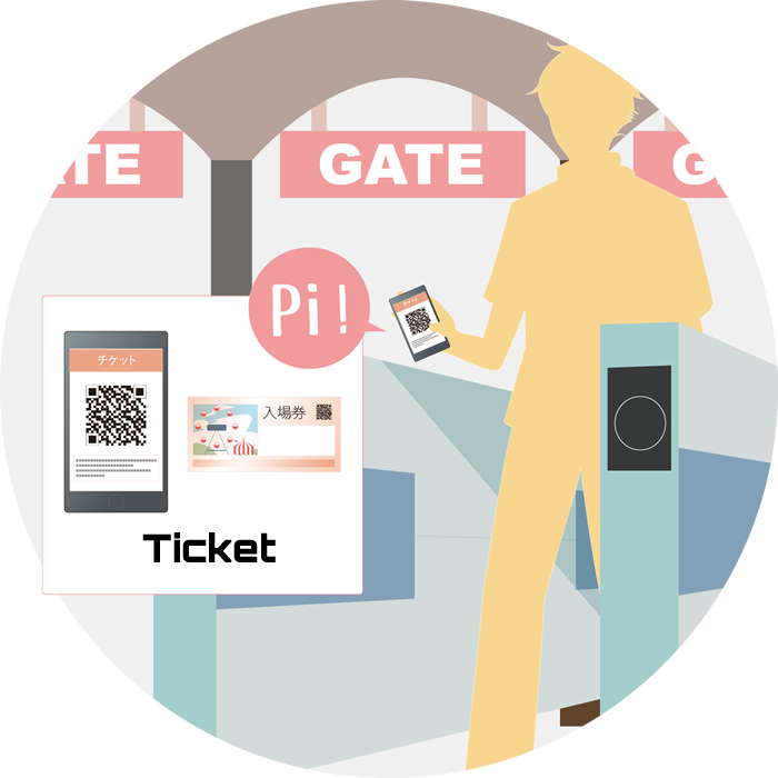 Amusement park diBar eTicketS The best choice to read QR barcode