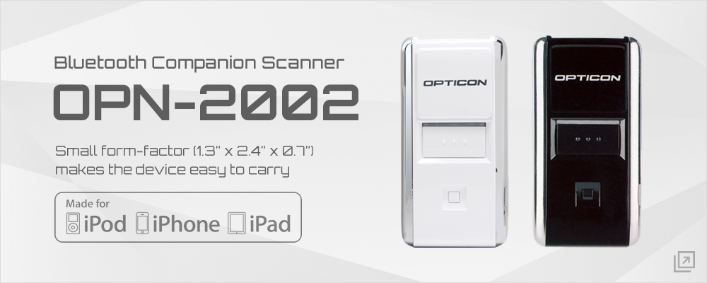 OPN-2002 Bluetooth Companion Scanner