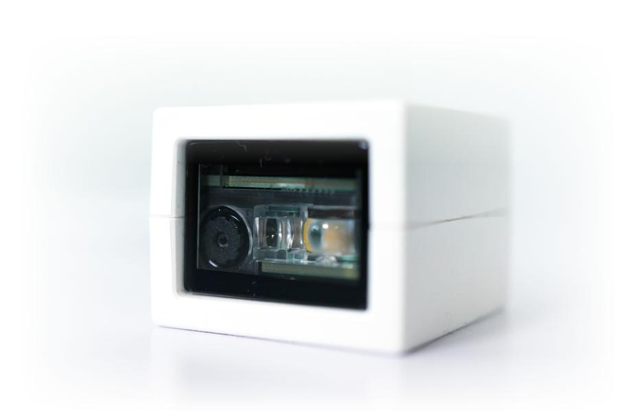 cubeQR 小型バーコードリーダー
